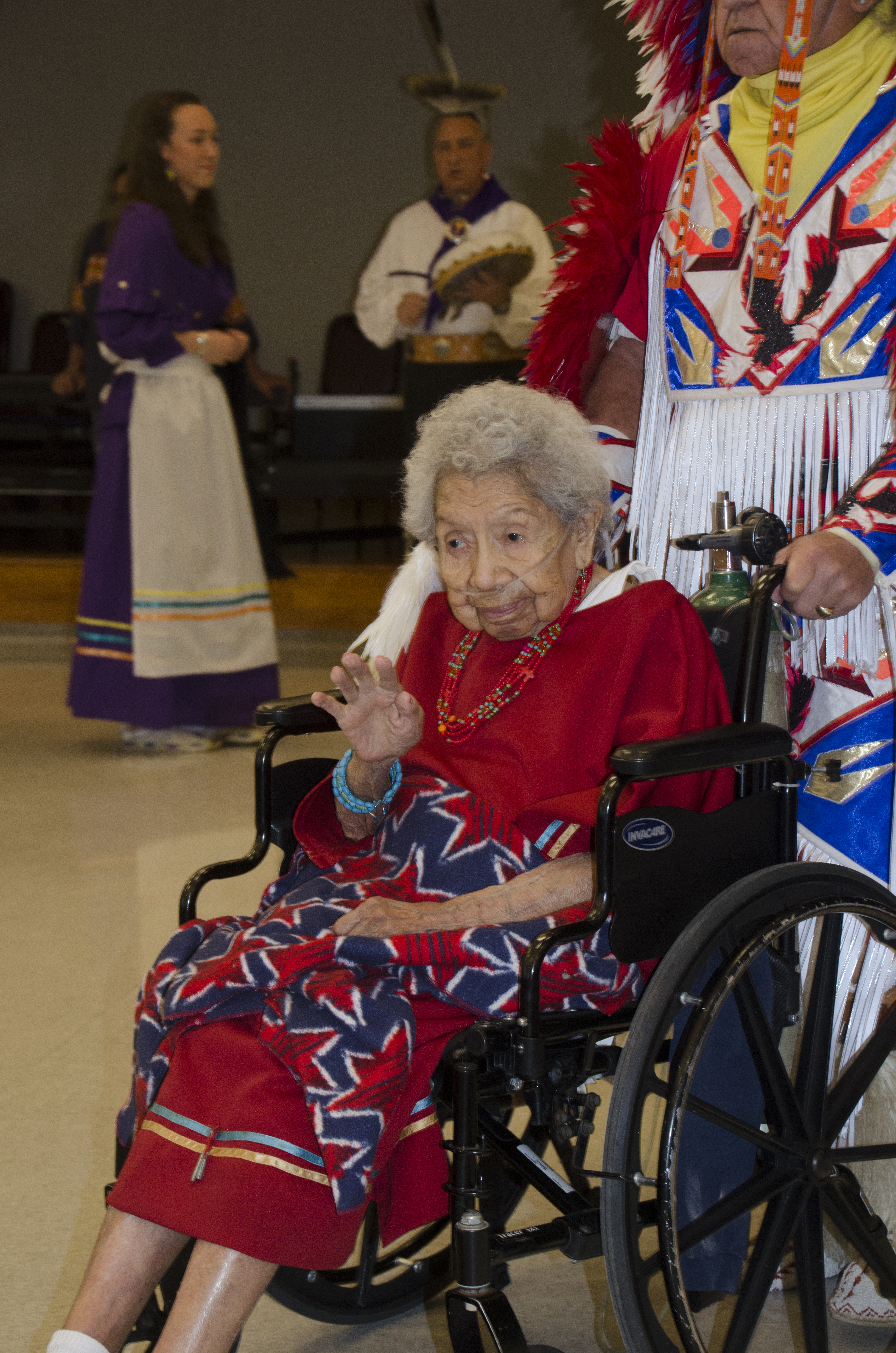 Oklahoma Bank, Veterans Center Keep Tradition Alive for Resident's